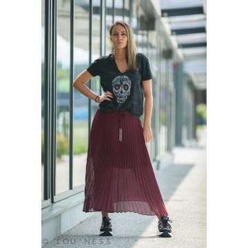 Tee-shirt femme tête de mort